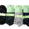 Bambus sneakerstrømper med prikker 3-pak